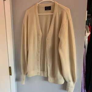 Off White Vintage Golf Sweater - Urban Outfitters